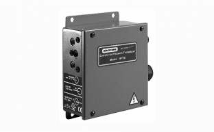A compact pressure controller designed to operate pneumatic brakes and clutches in precise tension applications